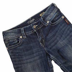 Silver Suki Bootcut Medium Wash Jeans